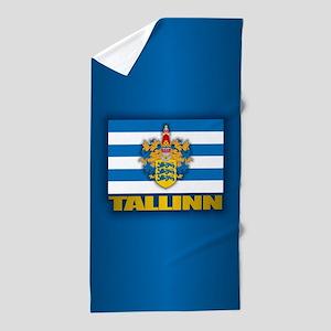 Tallinn Beach Towel