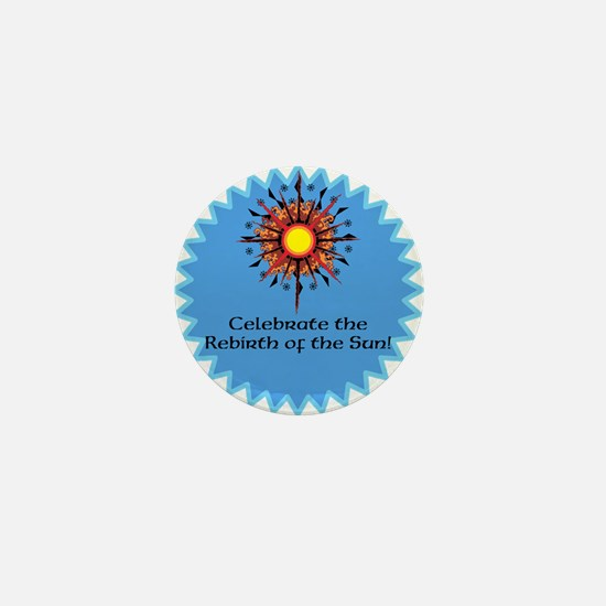 Winter Solstice / Yule Mini Button