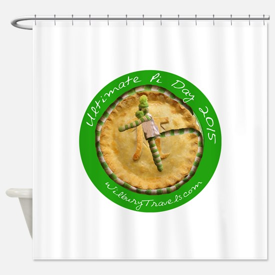 Ultimate Pi Day 2015 Shower Curtain