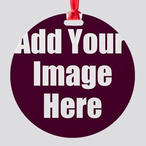 Add Your Image Here Ornament