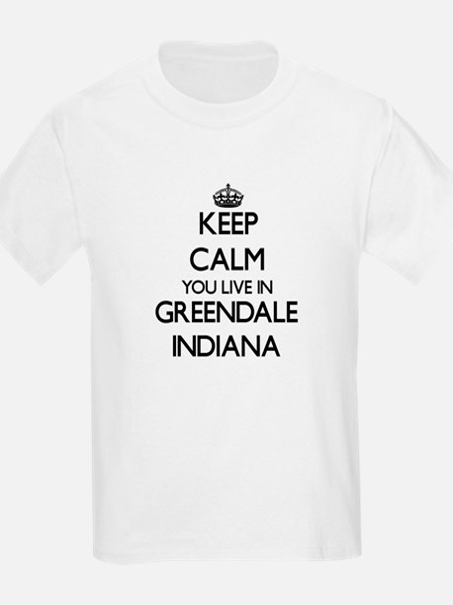 Keep calm you live in Greendale Indiana T-Shirt