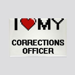 I love my Corrections Officer Magnets
