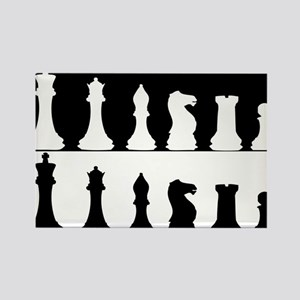 Chess Rectangle Magnet