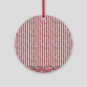 Watermelon Mania - double row border stripes Ornam