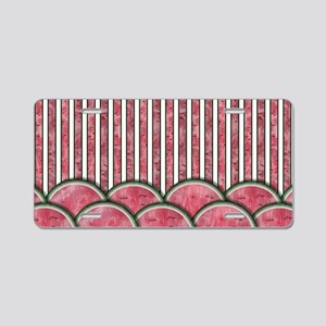 Watermelon Mania - double row border stripes Alumi