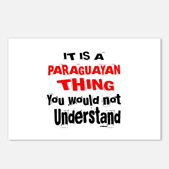 It Is Paraguayan Thing Postcards (Package of 8)