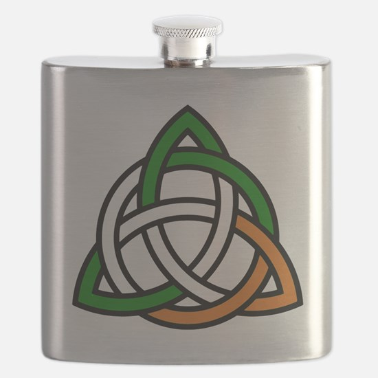 Cute Irish Flask