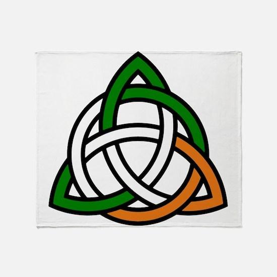 Funny Irish history Throw Blanket