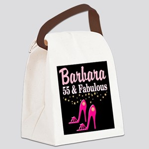 FABULOUS 55TH Canvas Lunch Bag