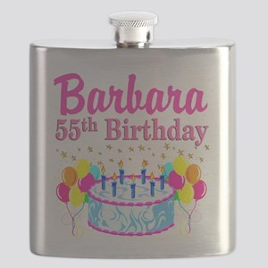 DAZZLING 55TH Flask
