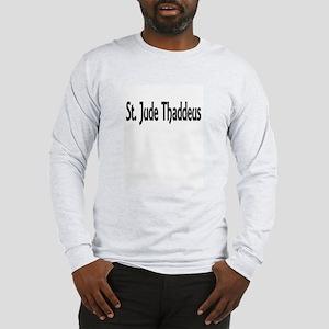 St. Jude Thaddeus Long Sleeve T-Shirt
