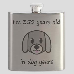 50 dog years 2 Flask