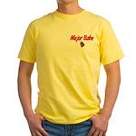 Army Major Babe Yellow T-Shirt