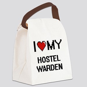 I love my Hostel Warden Canvas Lunch Bag