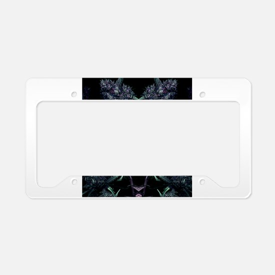 Classy Cannabis Art License Plate Holder