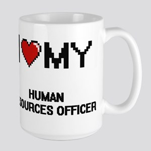 I love my Human Resources Officer Mugs