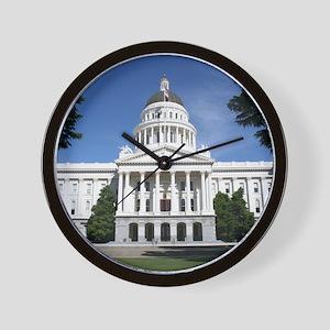 Capitol in Sacramento Wall Clock