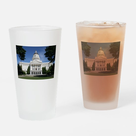 Capitol in Sacramento Drinking Glass
