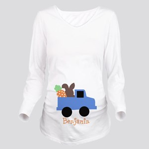 Easter time truck personalized Long Sleeve Materni