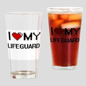 I love my Lifeguard Drinking Glass