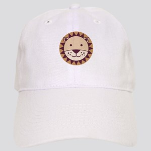 Cute Lion Face Baseball Cap