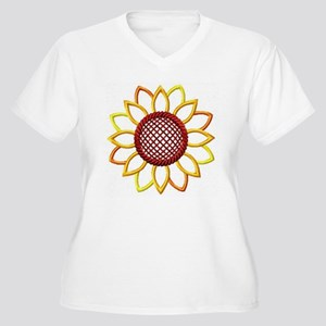 Just A Sunflower Plus Size T-Shirt
