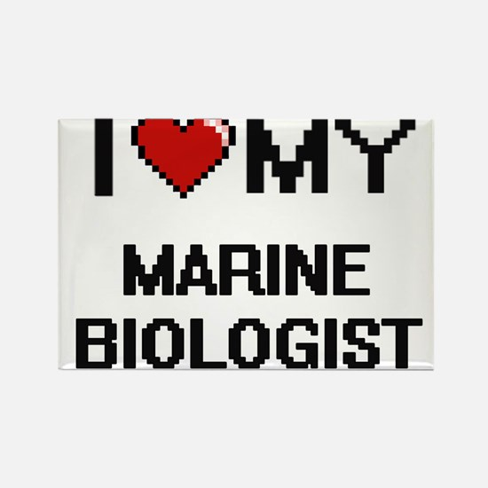 I love my Marine Biologist Magnets