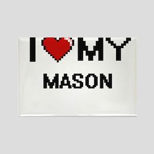 I love my Mason Magnets
