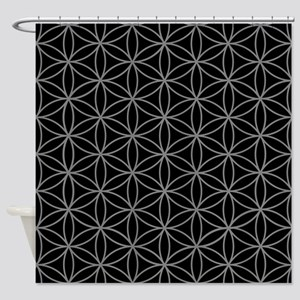 Flower Of Life Big Ptn Gb Shower Curtain