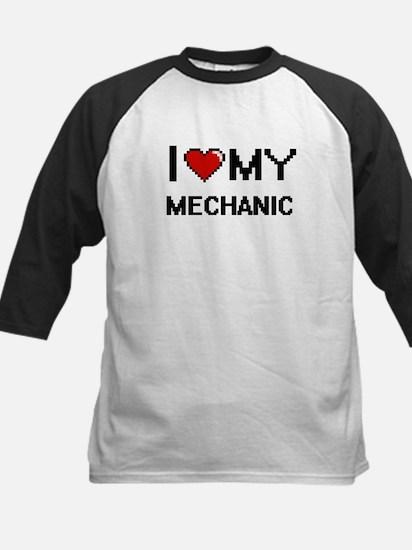 I love my Mechanic Baseball Jersey