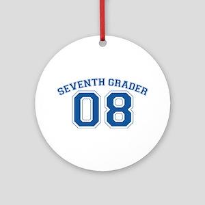 Seventh Grader 08 Ornament (Round)