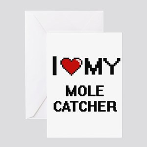 I love my Mole Catcher Greeting Cards