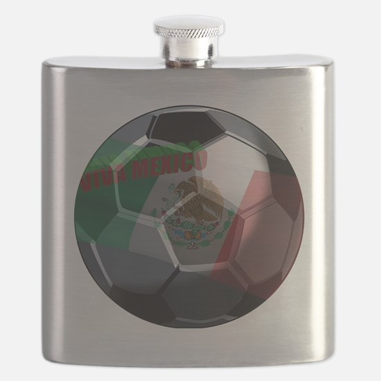 Cute Mexico soccer Flask