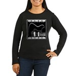 Tonecaster Women's Long Sleeve Dark T-Shirt