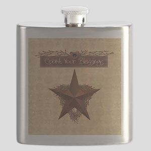 Primitive Star Flask