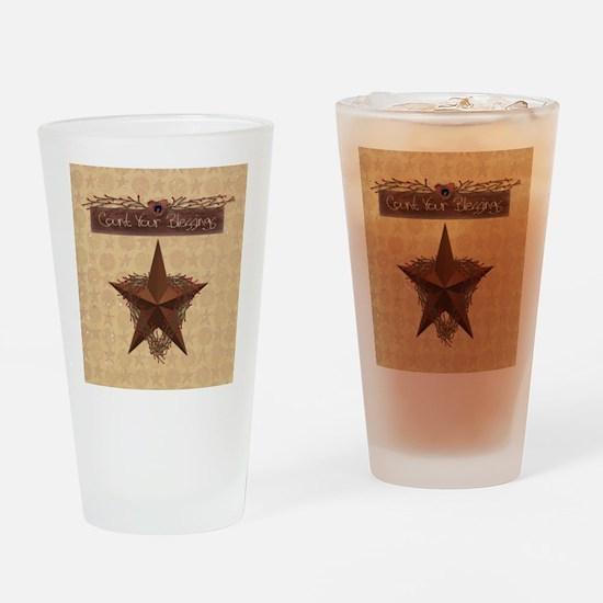 Primitive Star Drinking Glass