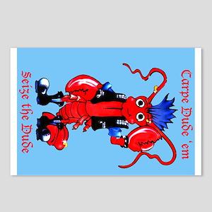 Carpe Dude 'em - seize the Du Postcards (Package o