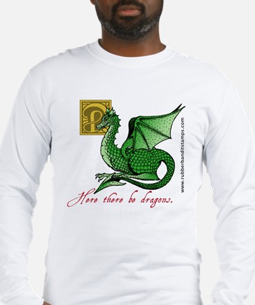 Unique Mythical dragon Long Sleeve T-Shirt