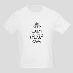 Keep calm you live in Stuart Iowa T-Shirt