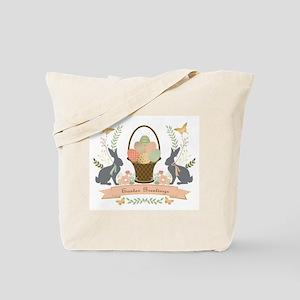 Modern Trends Easter Bunnies Tote Bag