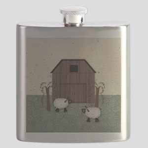 Barn Sheep Flask