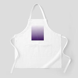 modern purple ombre Apron