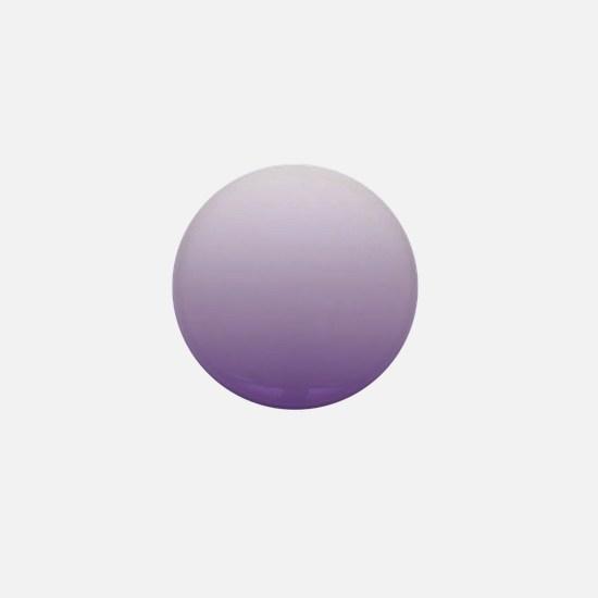 modern purple ombre Mini Button