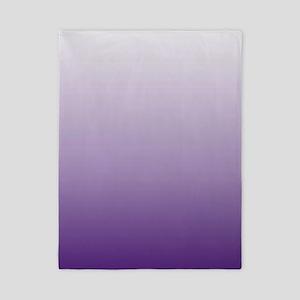 modern purple ombre Twin Duvet
