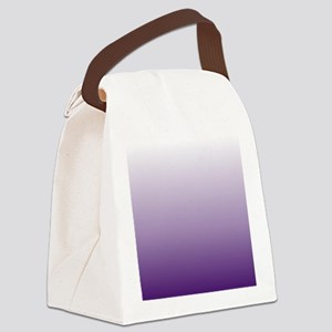 modern purple ombre Canvas Lunch Bag
