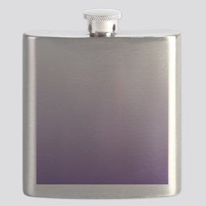 modern purple ombre Flask