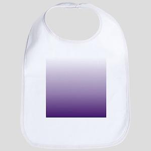modern purple ombre Bib