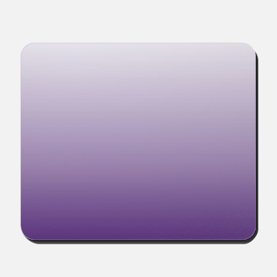 modern purple ombre Mousepad