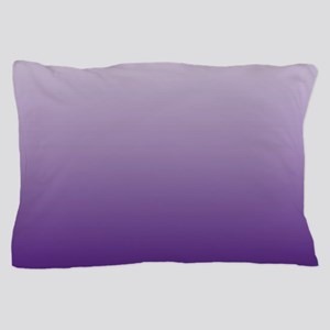 modern purple ombre Pillow Case