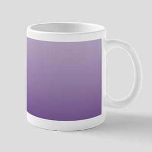 modern purple ombre Mugs